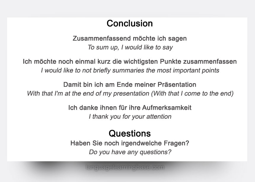Give an Amazing Presentation in German - Tips, Language, Phrases