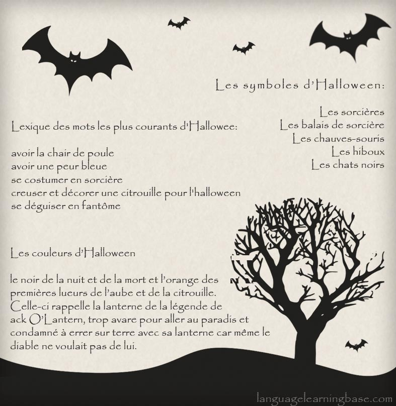 Lexique des mots les plus courants d 39 halloween blagues for Drawing websites no download