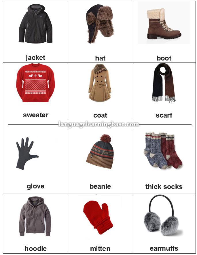 Cloths English t English